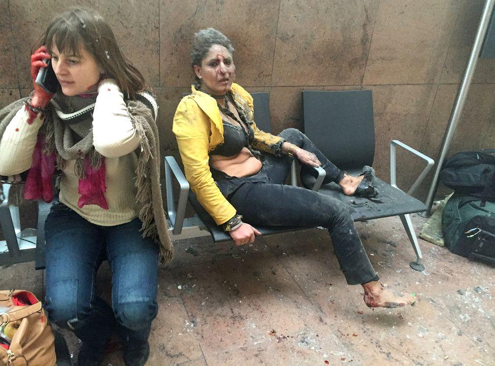 3. Март. Несколько бомб взорваны террористами в аэропорту Брюсселя.