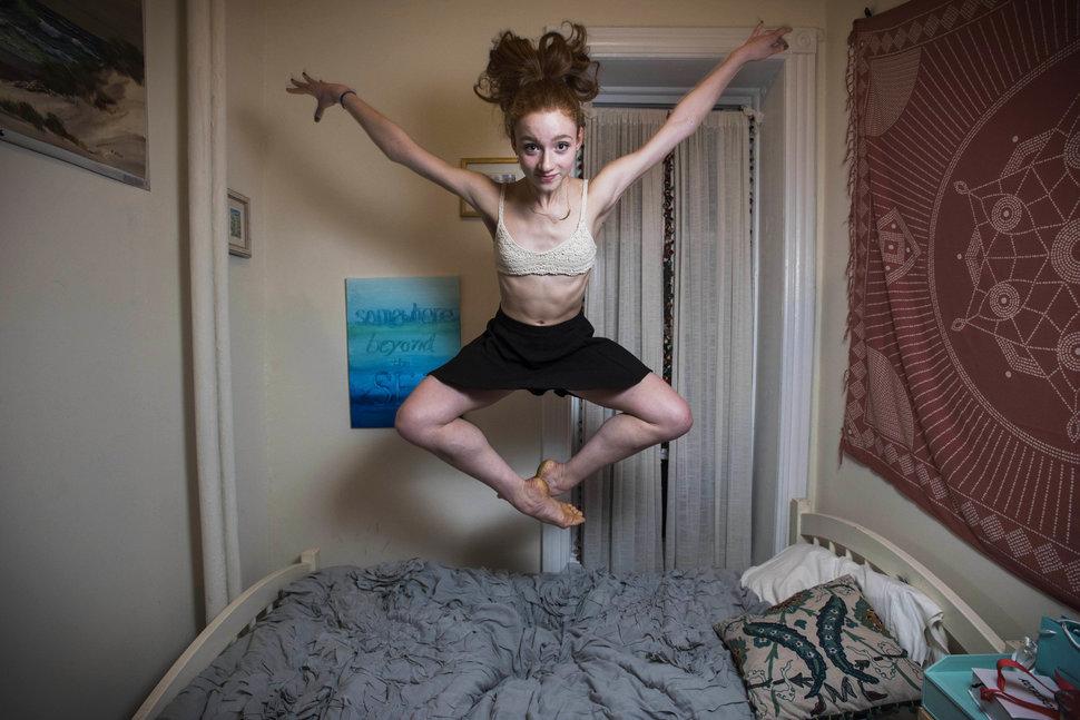11. Екатерина Харлин из Нью-Йорка, проживающая в трехкомнатной квартире на Манхэттене.