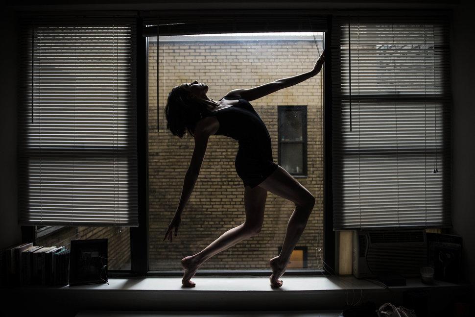 8. Кэтрин Борен из Далласа живет в студии на Манхэттене. Танцует в Американском театре оперы.
