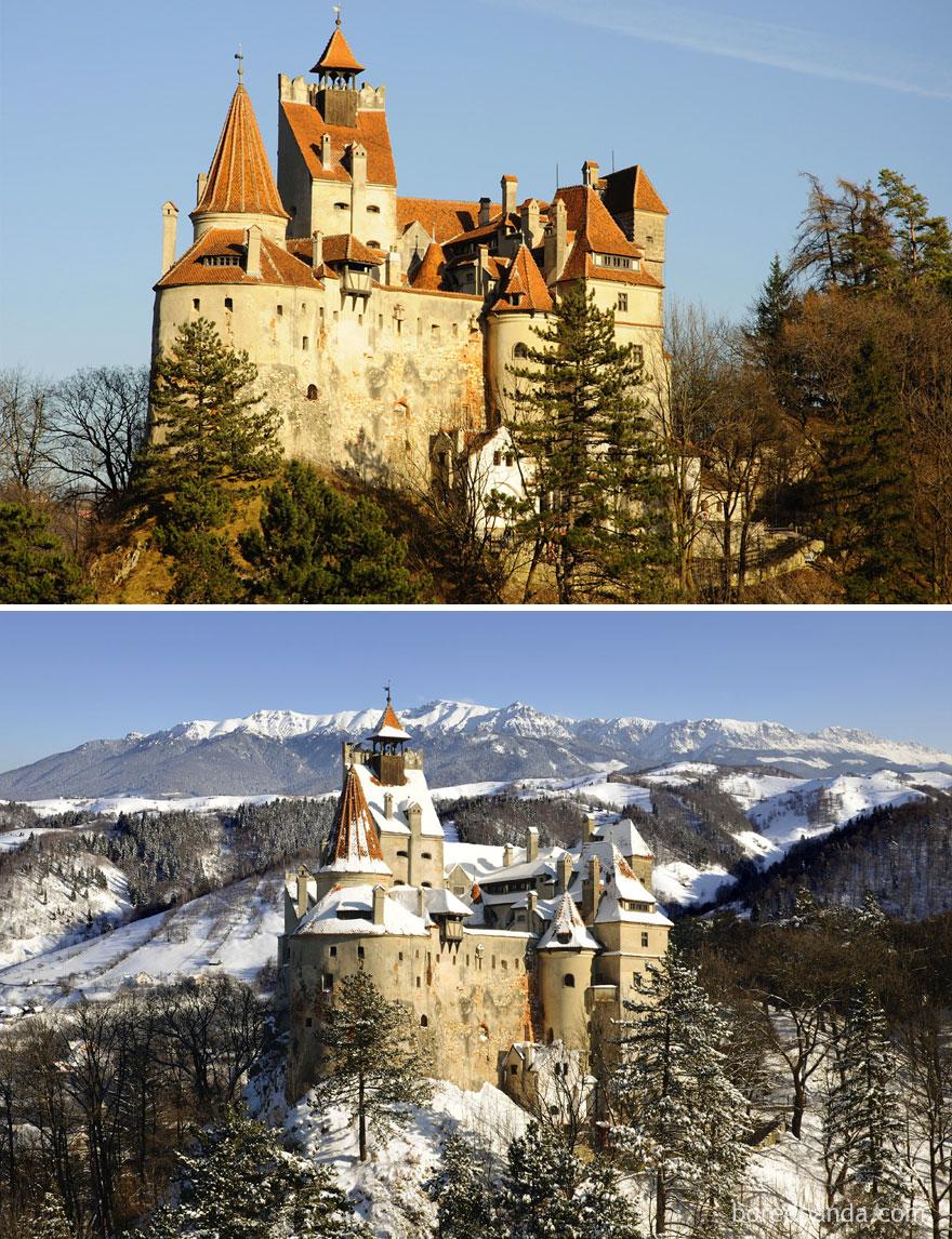 13. Замок Бран, Румыния.