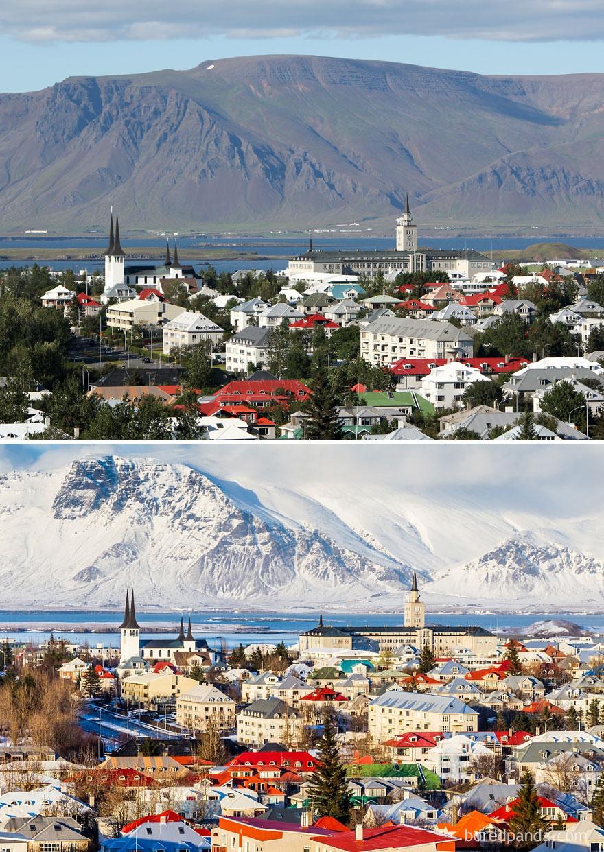 16. Рейкьявик, Исландия.