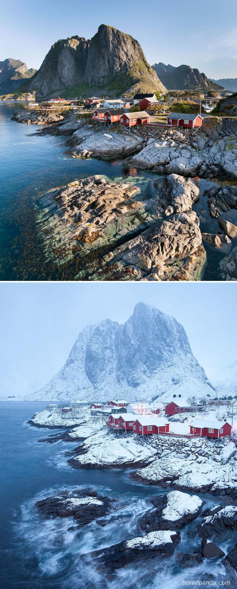 2. Хамнёй, Норвегия.