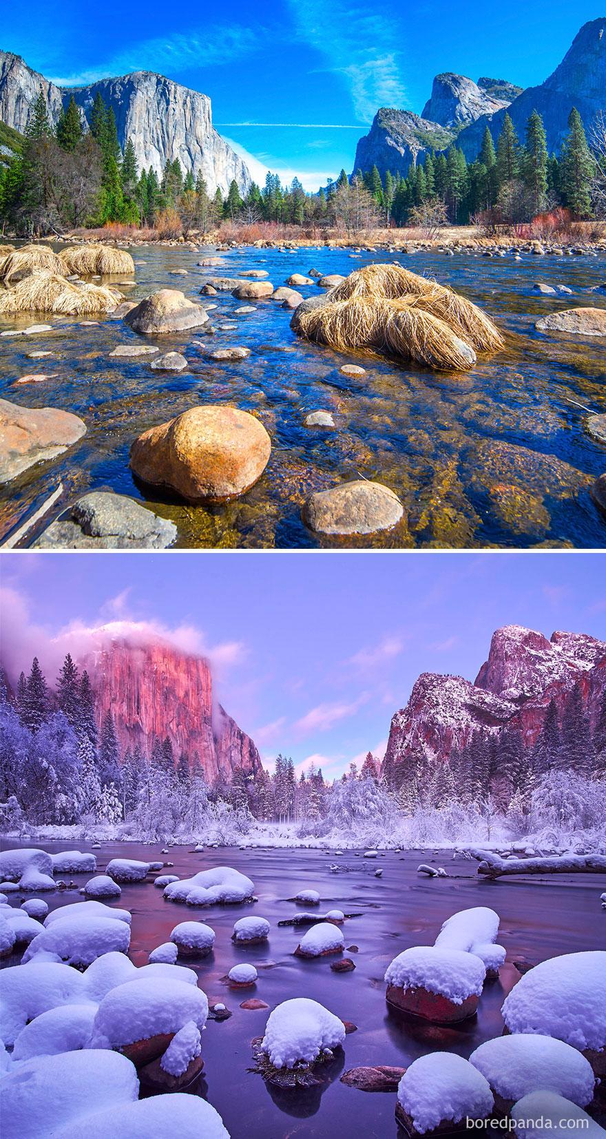6. Национальный парк Йосемити, Калифорния, США.