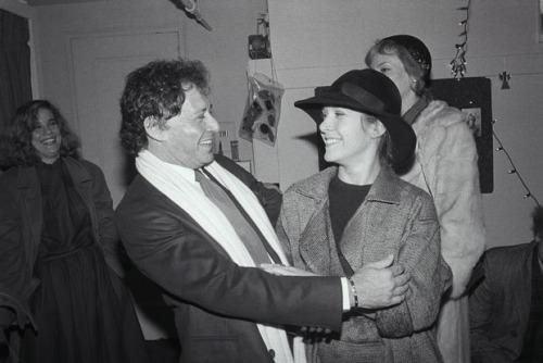 10. Кэрри Фишер со своим отцом Эдди Фишером.