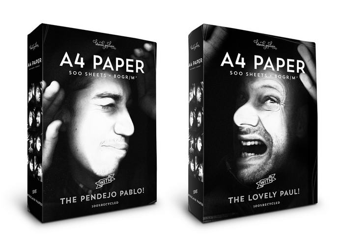 1. Одно из популярных офисных развлечений – копировать на копировальной машине части своего тела. Именно эта забава вдохновила на создание упаковки бумаги для копировального аппарата.