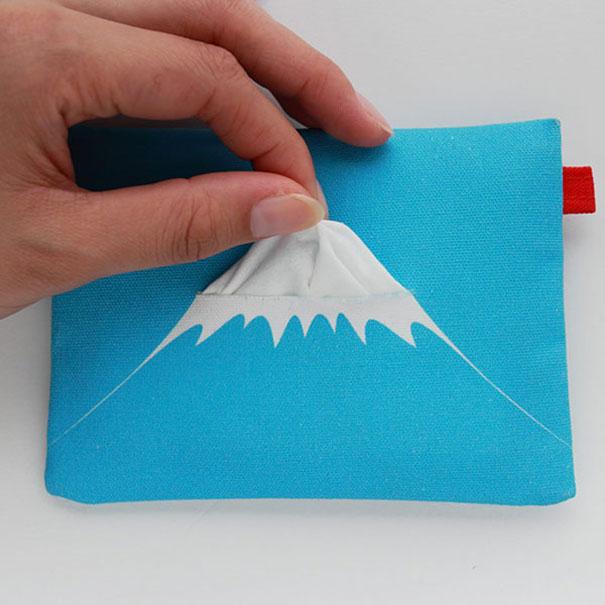 20. Салфетница – вулкан Фудзияма.