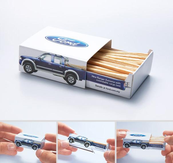 4. Спичечный коробок  Ford Ranger Extreme.