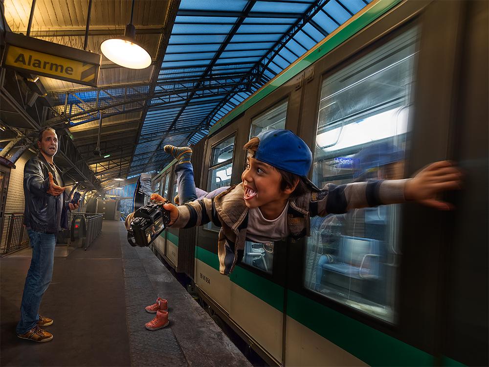 4. Парижское метро.