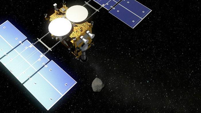 8. Космический аппарат Хаябуса.