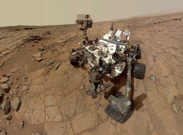 8. Марсоход Curiosity