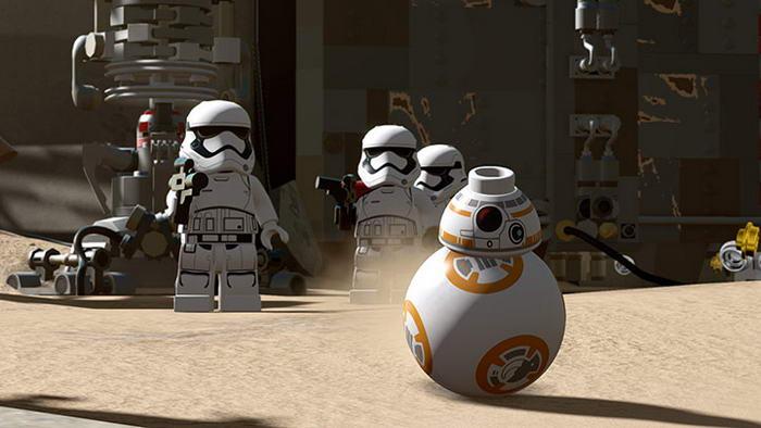 1. Lego Звездные войны: Пробуждение Силы.
