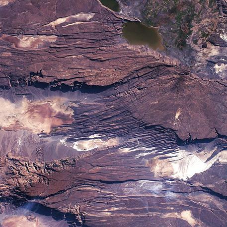 10. Восточно-Африканская рифтовая долина в Юго-Восточной Африке.