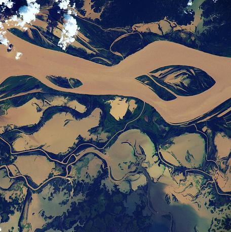 11. Река Тапажос, Бразилия.