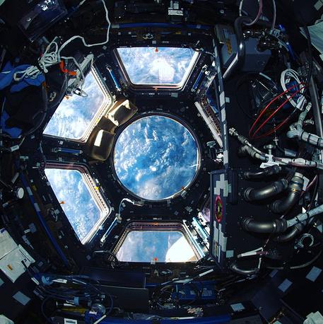 21. Один из модулей МКС.