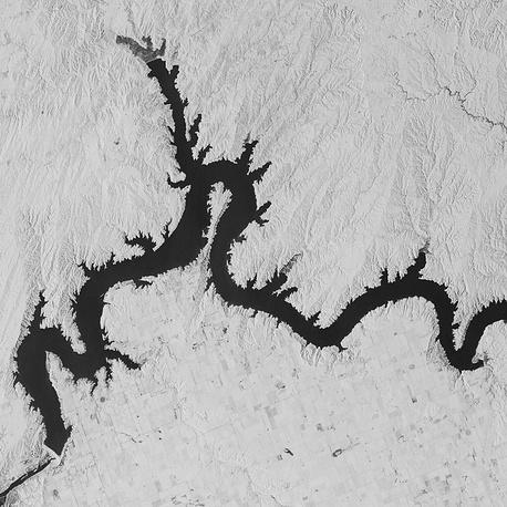 9. Река Миссури, Южная Дакота, США.