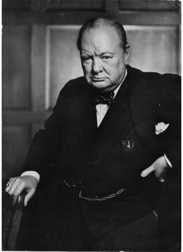 18. Уинстон Черчилль, Юсуф Карш.