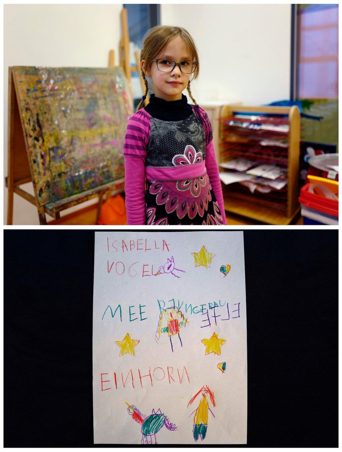 11. Пятилетняя Изабелла из Германии надеется, что Санта принесет ей мягкие игруши – птицу, русалку, единорога и эльфа.