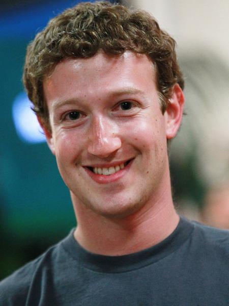 10. Генеральный директор Facebook Марк Цукерберг.