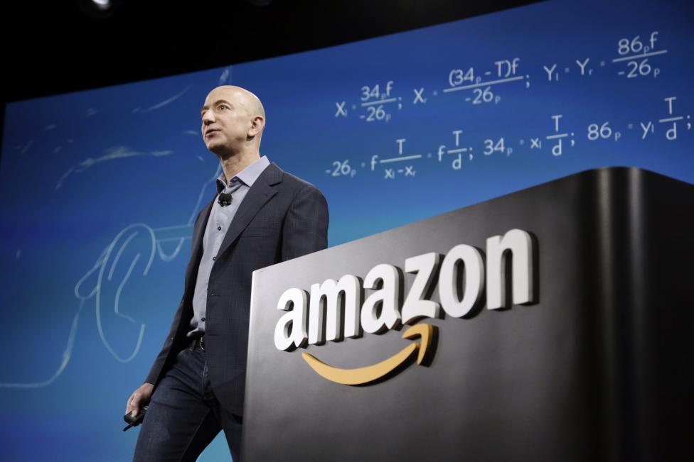 14. Генеральный директор Amazon Джефф Безос.