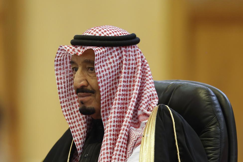 16. Король Саудовской Аравии Салман бин Абдулазиз.