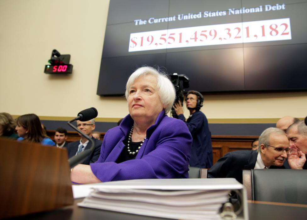 6. Председатель Федеральной резервной системы Джанет Йеллен.