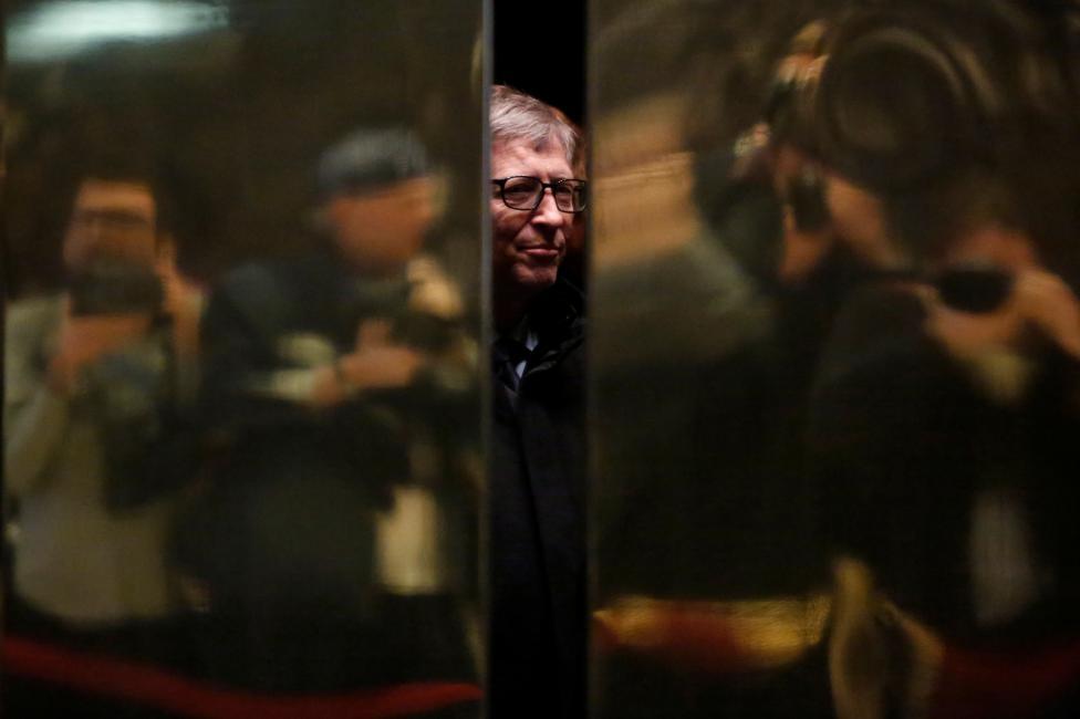 7. Основатель Microsoft  Билл Гейтс.