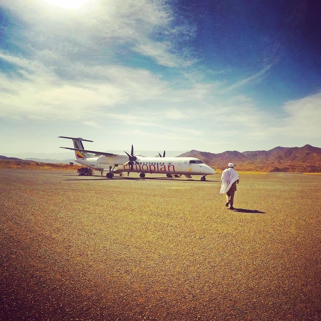 5. Суровая красота аэропорта Эфиопии. @amrez.