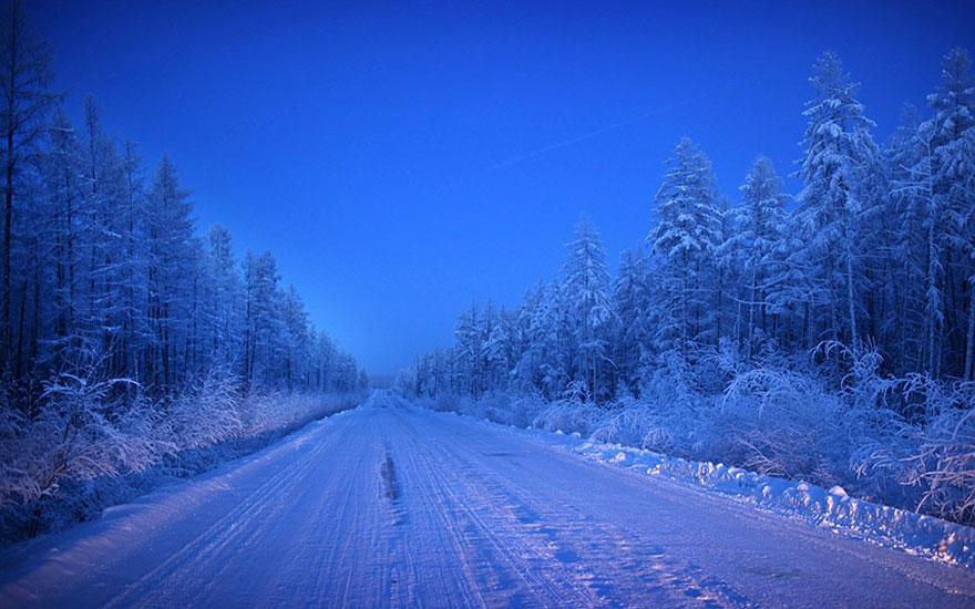2. Единственный путь из Якутска в Оймякон носит устрашающее название «Дорога костей».