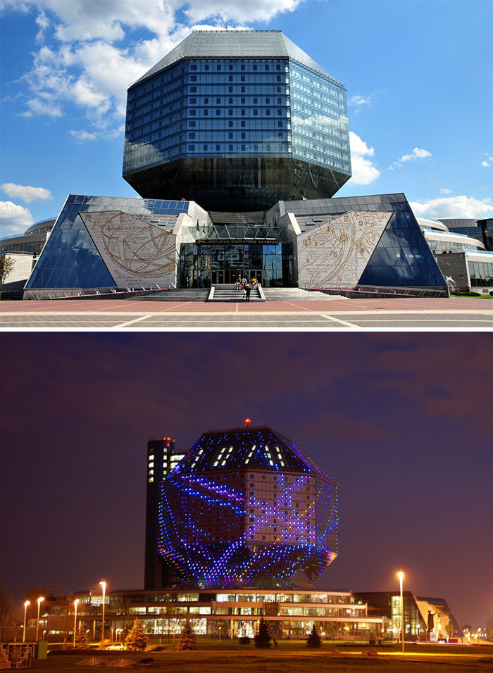 17. Национальная библиотека Беларуси, Минск, Беларусь.