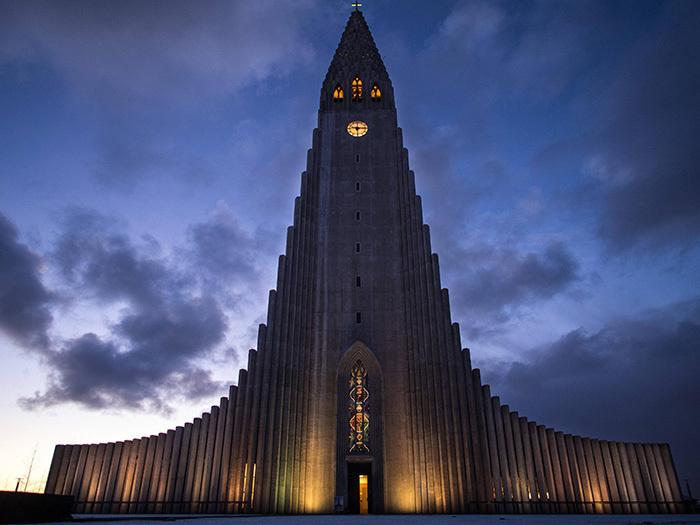 5. Хатльгримскиркья, Рейкьявик, Исландия.