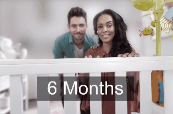 7. В 6 месяцев отдаленные предметы уже не кажутся такими размытыми.