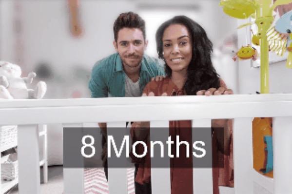 9. 8 месяцев.