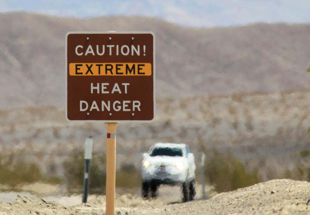 1. Предупреждение о высоких температурах.