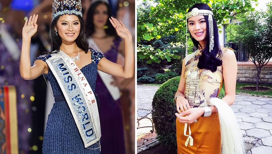 8. Юй Вэнься (Китай), Мисс Мира 2012.