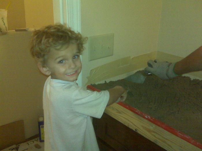 9. …как работать с бетоном…