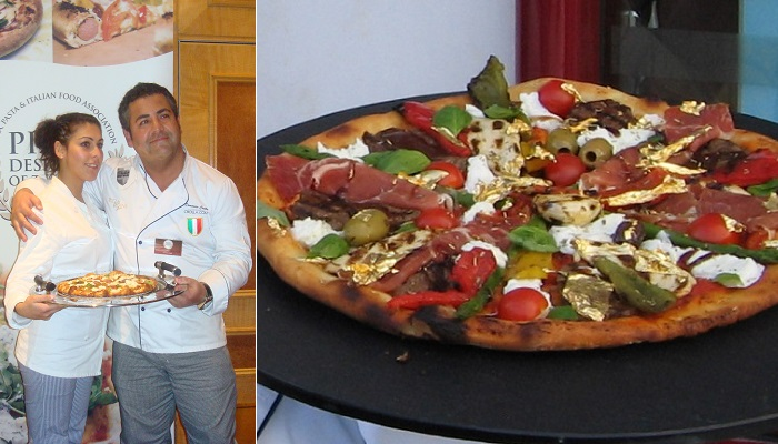 7. Pizza Royale 007 - $ 4,200.