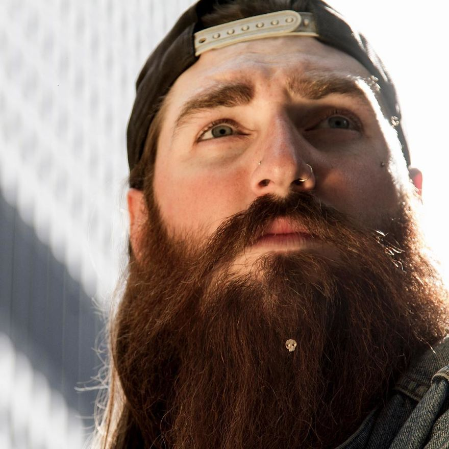 1. Krato Milano создал первую в истории коллекцию украшений для бородачей - Krato Beard Jewel.