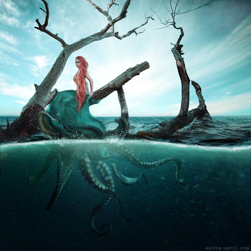 4. Осьминог. Другие напротив, хранят тайну и позволяют зрителю самому развить воображение и фантазию.