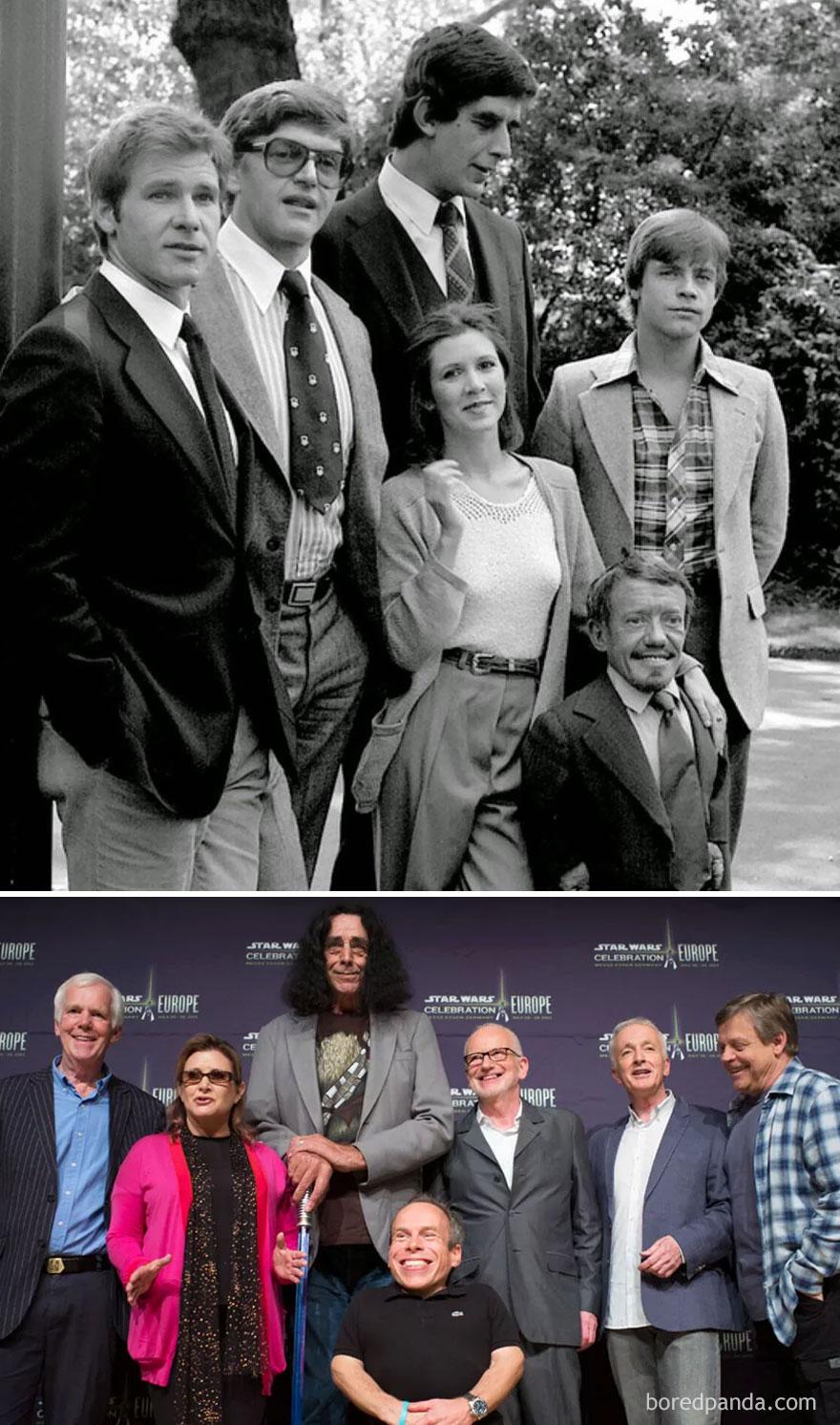 6. Звездные войны: 1980 и 2013.