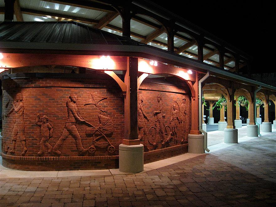 4. «Встретимся в парке» - Парк Маркет сквер, Рейдсвилл, Северная Каролина.