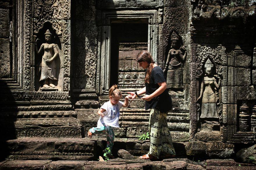 5. Бантай Кдей, Камбоджа.