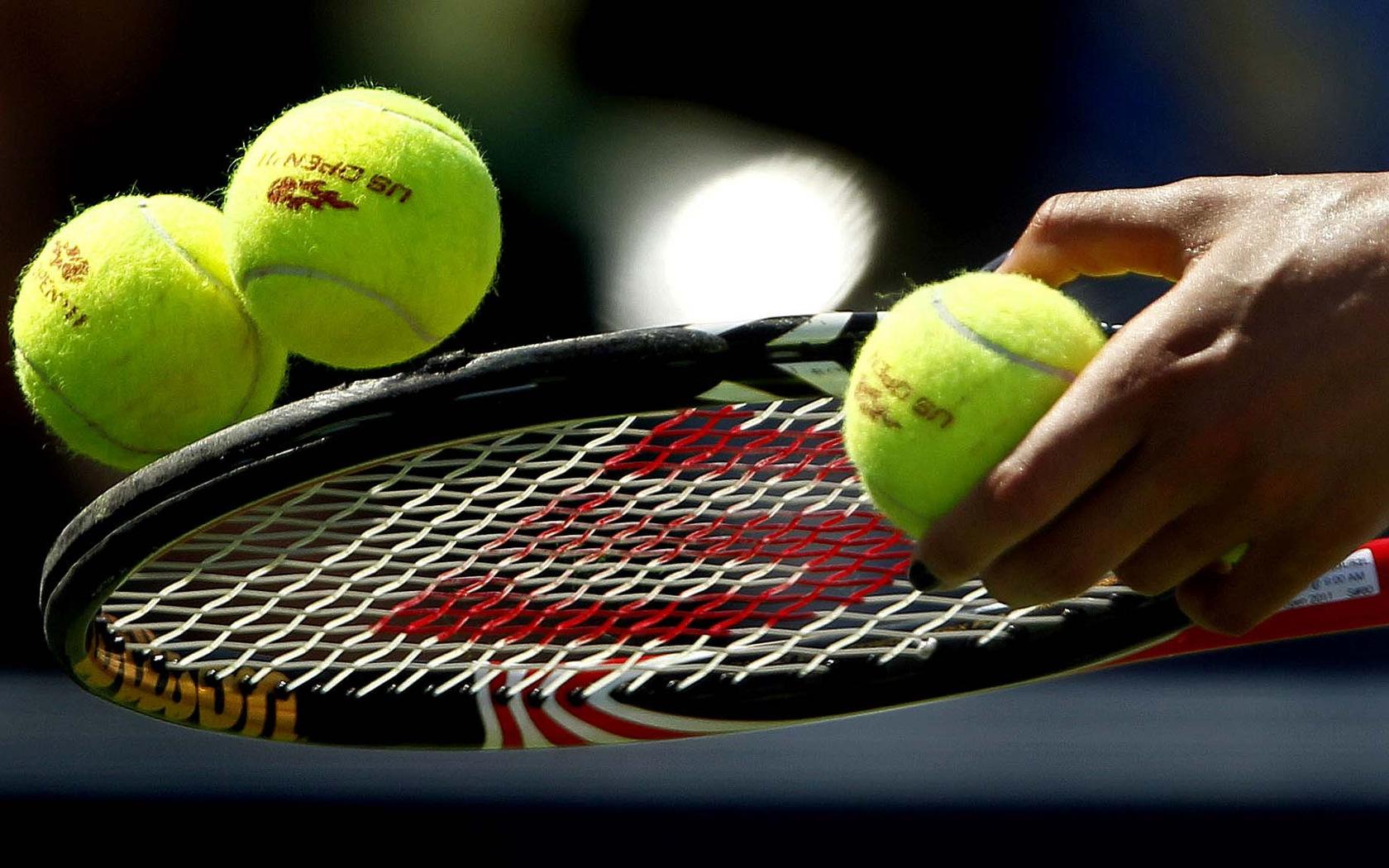 теннисный мяч  № 1367240 бесплатно
